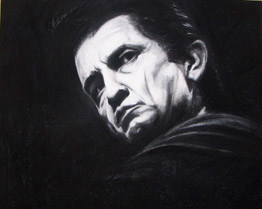 fine art johnny cash poster